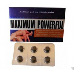 Maximum Powerful 2800 mg 18 natuurlijke erectiepillen
